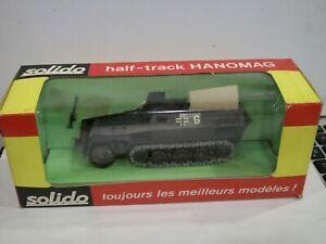 Solido Half-track Hanomag #241 in box