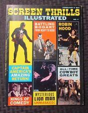 1964 SCREEN THRILLS ILLUSTRATED #7 VF Captain America ROBIN HOOD Lion Man