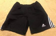 Adidas Padded Thigh Workout Shorts Size Large Mens Black Gym Fitness Soccer