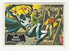 66 BATMAN TOPPS ROBIN RESCUED 1966 NO 38 NRMINT+ 8347