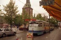 PHOTO  NORWAY OSLO 1993 TRAM STORTORVET 293