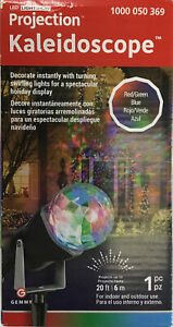 Gemmy 88579 Lightshow Kaleidoscope LED RGB Projection Light 20 Ft 6 Inches New