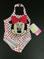 Infant Disney Minnie Mouse Swimsuit 3-6 Months Girls NWT Red Polka Dots New Baby