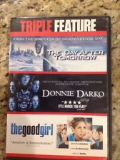 Donnie Darko/Good Girl/Day after Tomorrow(DVD, 2008, 3-Disc Set, WS)Authentic US