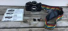 Canon A-1 Slr 35 mm Film Camera Body & Accessories Single Lens Reflex Japan