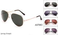 Men Women Aviator Sunglasses Top Gun Flight Classic Style Metal Frame Glasses