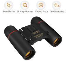 Fernglas 30x60 Faltbar Nachtsicht Binoculars Vogelbeobachtung Wandern mit Tasche