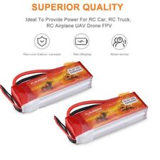 2x 3S 25C 11.1V 2200mAh LiPo Battery XT60 for RC Car Truck Helicopter Drone Boat