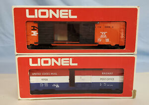 LIONEL 9719 AND 9708 FREIGHT CARS NEW OB............TK