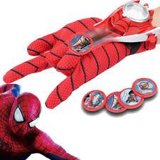 Kinder Superhelden Spiderman Launcher Handschuhe Cosplay Spielzeug Geschenk Toy