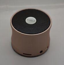 EWA Mini Light weight Wireless Portable Bluetooth Super Bass Speaker Rose Gold