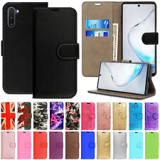 Case For Samsung Galaxy Note 10 Plus 5G Lite 9 8 Leather Flip Wallet Phone Cover