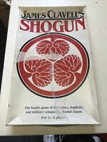 James Clavell's Shogun War Strategy Board Game Military Conquest Feudal Japan