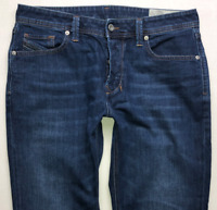 Mens DIESEL Larkee-Beex Jeans W32 L30 Blue Regular Straight Wash 084NR STRETCH