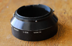 Nikon HS-1 Metal Lens Hood Shade for Nikkor 58mm 50mm F1.4 lenses HS1