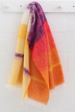 Luxury Beautiful MOHAIR WOOL THROW by Hinterveld. Hand Made in South Africa. NEW