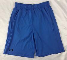 Under Armour Men'S Athletic Shorts Loose Heat Gear Blue 1291321 Size S