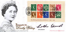 2002 Wildings M/S - Benham Official - Signed by ARTHUR EDWARDS