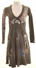 DESIGUAL Womens A-Line Dress Size 10 Small Multicoloured Cotton  HG04