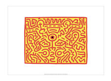 Keith Haring: Growing 3 exhibition poster - Tate Gallery