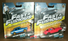 Two 1/55 Scale Fast & Furious Cars  Ford Escort RS1600 MK1 + 1966 Chevy Corvette