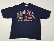 Boston Red Sox T Shirt Men's Large Mlb Logo Athletics Vintage 90s Baseball Usa