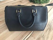 Louis Vuitton Speedy 25 Borsa Bag Pelle Epi 100% ORIGINALE