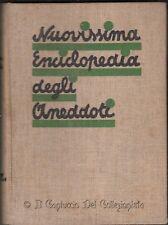 1936 Nuovissima enciclopedia degli aneddoti
