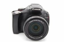 Canon PowerShot SX30 IS 14.1 MP 2.7'' SCREEN 35X ZOOM Digital Camera - Black