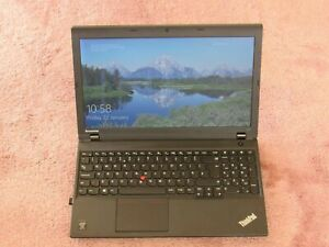 """Lenovo Thinkpad L540 15.6"""" laptop - i5-4310M 10GB, 120GB SSD + 1TB HDD, Win10"""