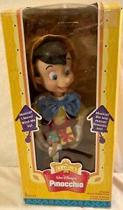 Vintage Telco Musical Pinocchio In Original Box