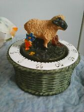 More details for kitchen timer decorative sheep and retro egg cups  2 x 2 circa 1980's