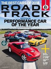 Road and Track The best cars of 2014.
