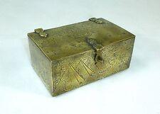 Bronze Casket With Egyptian Motifs Damascus 19 Jh Can