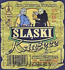 Poland Brewery Lwówek Śląski Książęce Beer Label Bieretikett Cerveza ls130.7