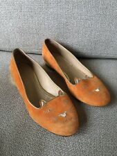 Charlotte Olympia Kitty Flats Shoes Size 39