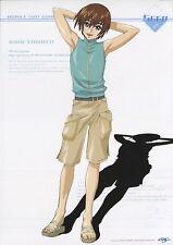 portrait poster Gundam Seed anime Mobile suit Kira Yamato