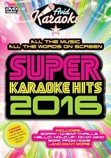 DVD:SUPER KARAOKE HITS 2016 - NEW Region 2 UK