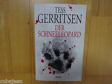 Tess Gerritsen DER SCHNEELEOPARD Thriller - Kriminalroman - WIE NEU!