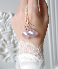 Natürliche Ohrschmuck im Durchzieher-Stil mit echten Edelsteinen