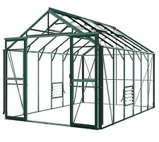 Hercules Blenheim Green 8ft5 wide x12ft7 long Greenhouse Stock clearance