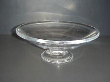 Simon Pearce Glass Chelsea Footed Compote Bowl Hand Blown