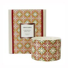Fired Earth Design Large Ceramic Candle Emperors Red Tea by Wax Lyrical