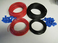SMALL DCC WIRE WIRING KIT BUS WIRE DROPPER WIRE MODEL RAILWAY 32 / 0.2 X 5METRES