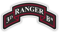 3rd Ranger insignia sticker decal Regiment unired states army battalion logo Bn