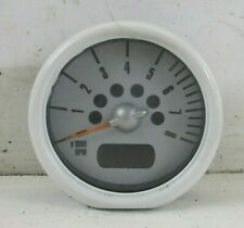 BMW MINI Rev Revolution Counter in White for R50 R52 R53