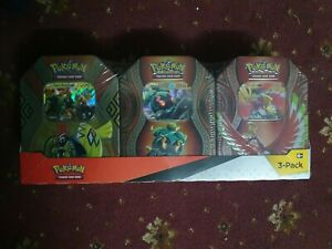 3 X POKEMON Mysterious Powers TinS Sealed TCG NEW HO OH MARSHADOW TAPU KOKO GX