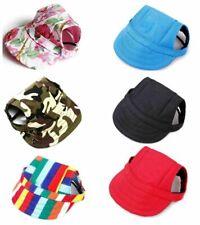 US Puppy Pet Visor Cap Dog Baseball Sun Hat Sports Adjustable Outdoor Hiking Hat