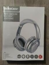 Silvercrest Noise-Cancelling Bluetooth® Headphones + Voice Control Rapid Charge