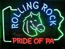 """New Rolling Rock Pride Of PA Beer Neon Sign 19""""x15"""" Ship From USA"""